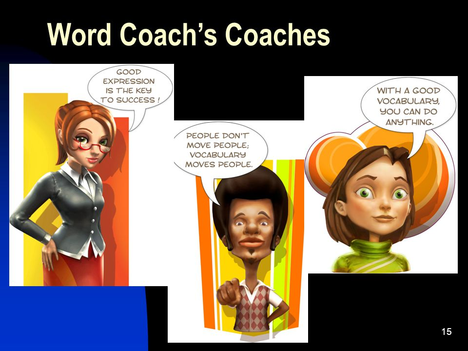 15 Word Coach's Coaches