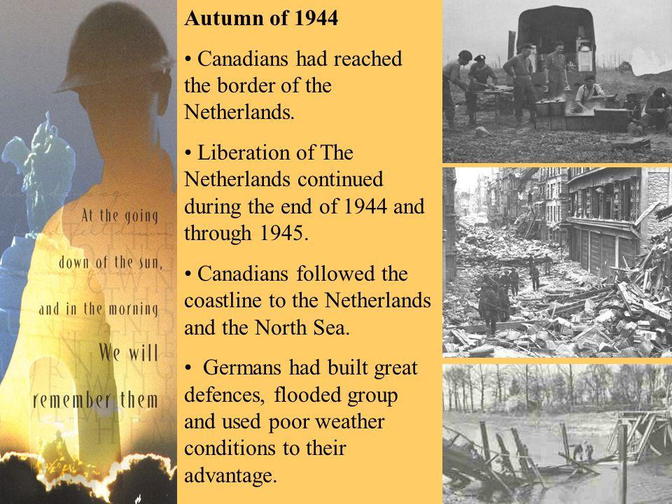 The Battle of the Scheldt, 5 September 1944 The land lies Northeast of Antwerp.