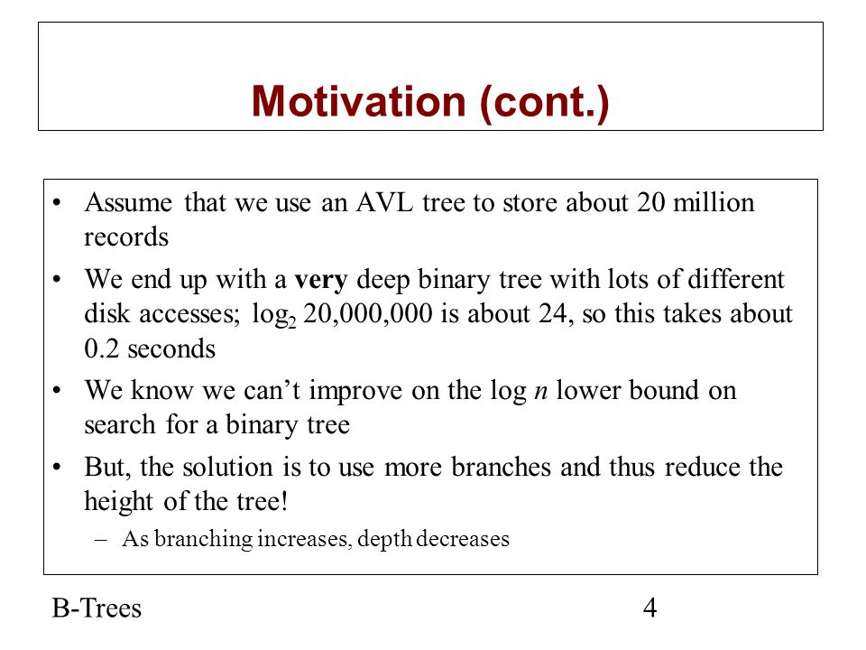 B-Trees25 Solution by Dina Said, deleting 4 14 592435 12 78 1112 455619232531 3 6 13