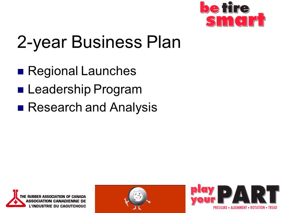 2-year Business Plan Regional Launches Leadership Program Research and Analysis