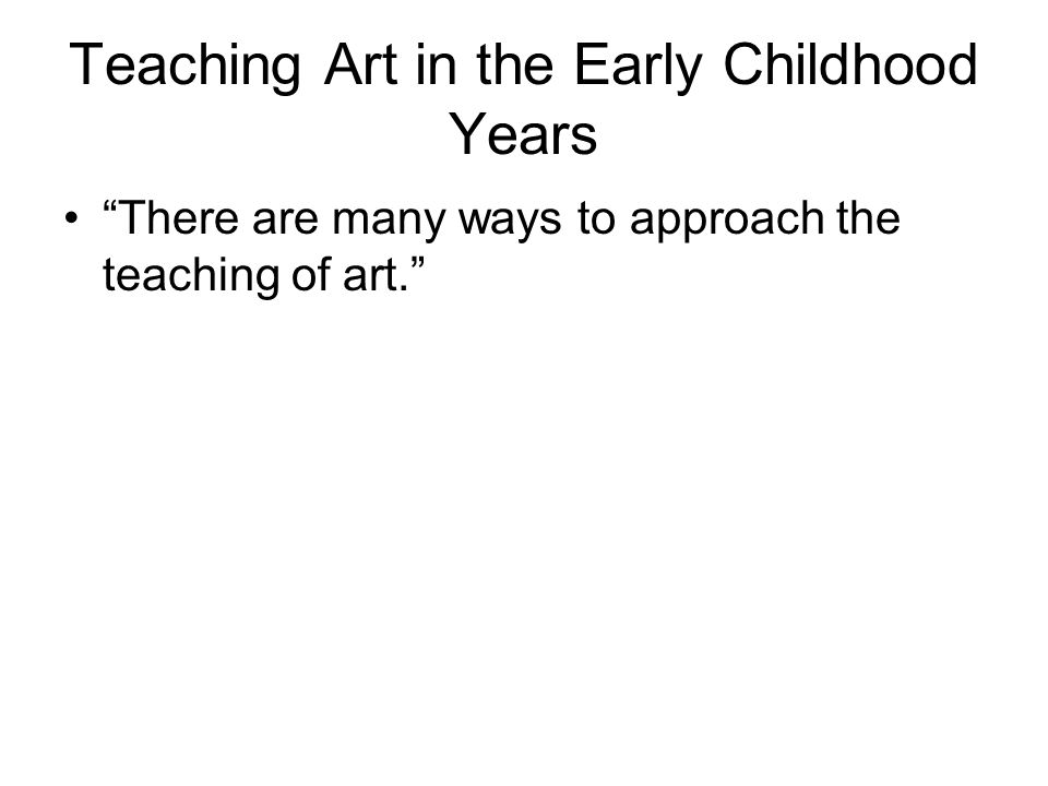 The Continuum of Approaches Teacher Directed…………..Guided…………Child-Centred »And all points in between!