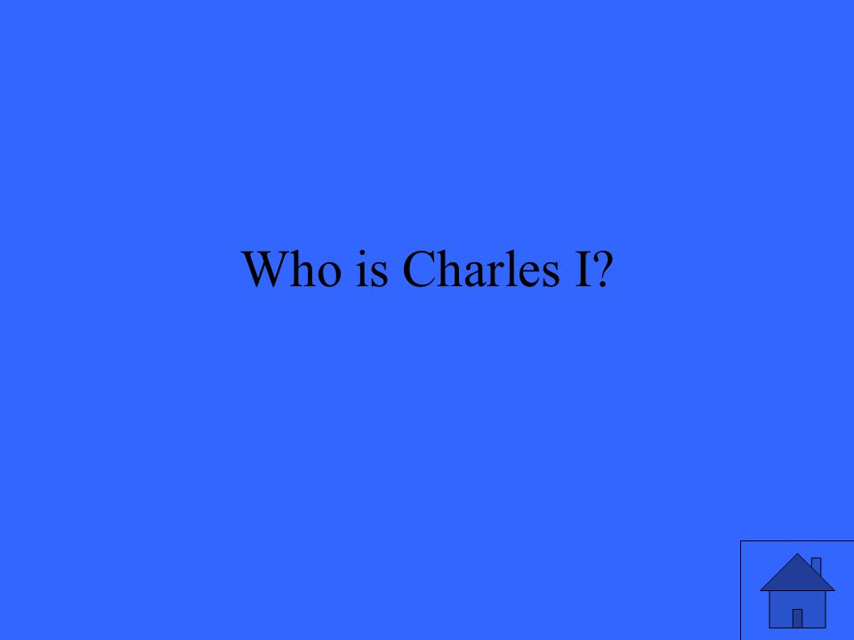 Who is Charles I