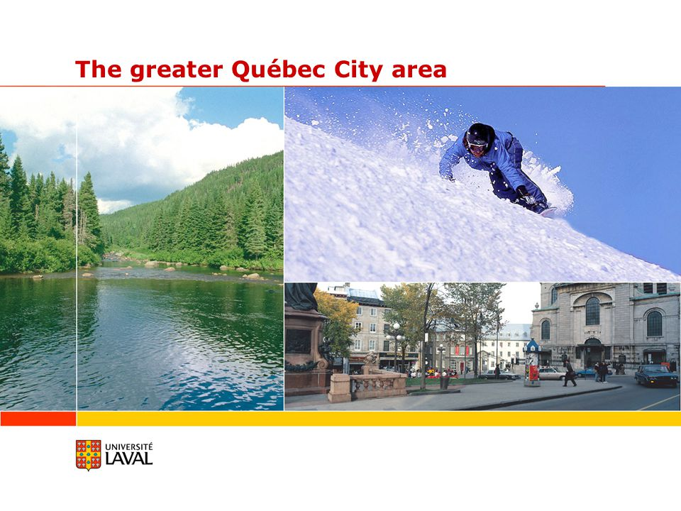 The greater Québec City area