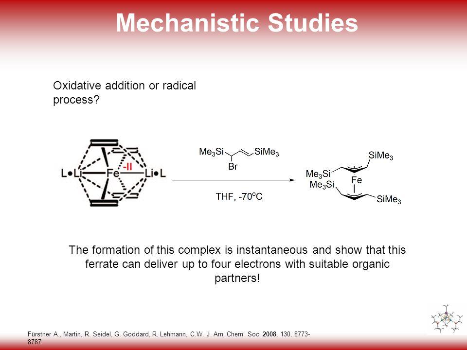 29 Mechanistic Studies Fürstner A., Martin, R. Seidel, G.