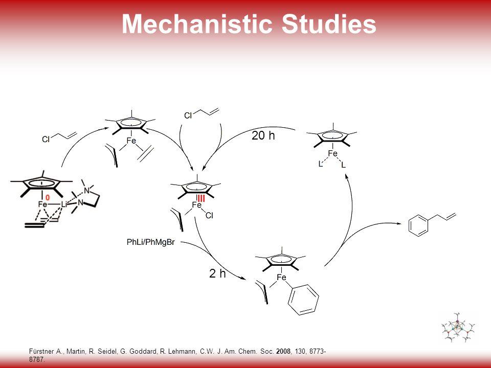34 Mechanistic Studies Fürstner A., Martin, R. Seidel, G.