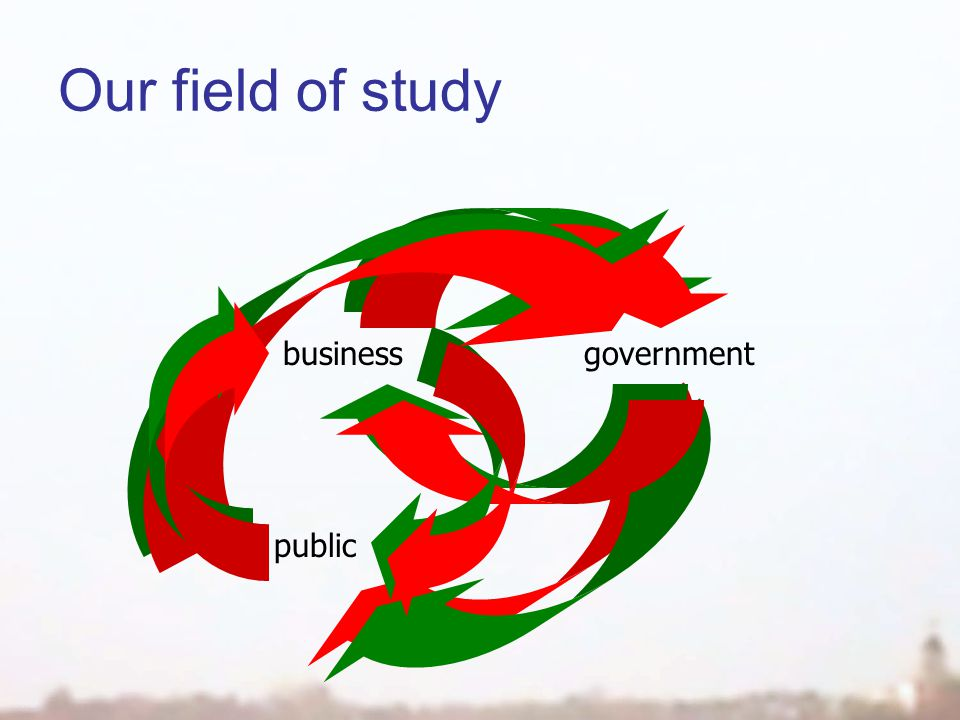 Our field of study businessgovernment others public