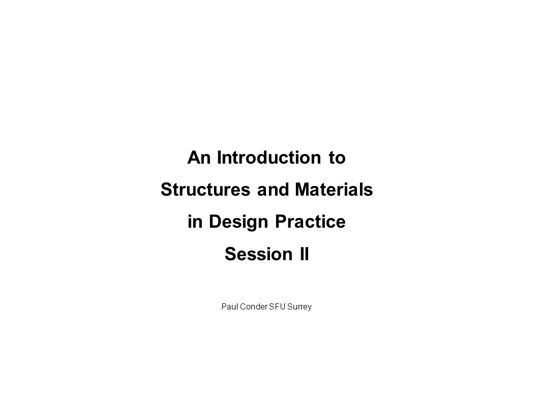 Structural system # 9: Shells, continued Injection molded and GRP components: Examples of electronics components, power tools, Karim Rashid garbage can, Panton chair Ribs and bosses increase stiffness and strength.