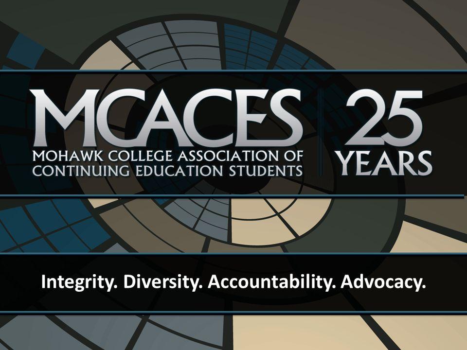 Integrity. Diversity. Accountability. Advocacy.
