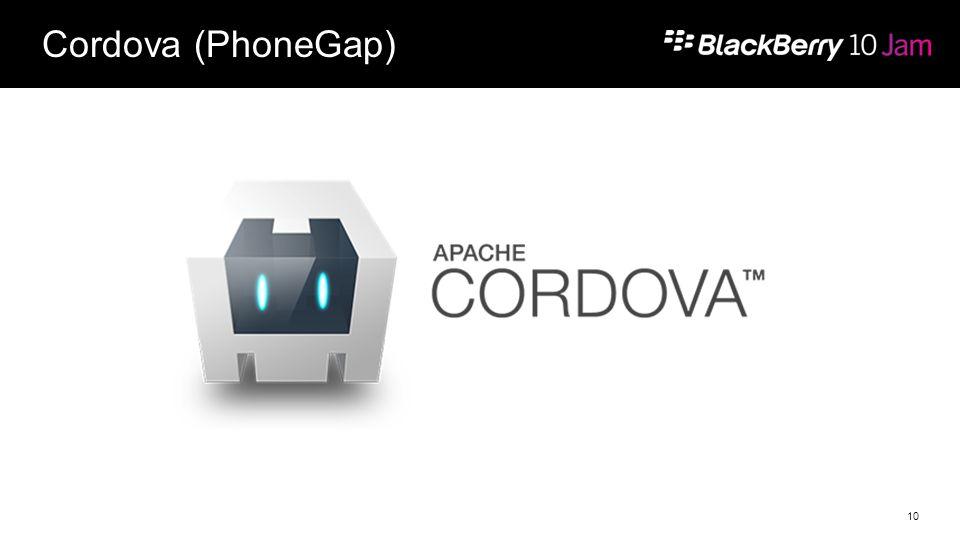 Cordova (PhoneGap) 10