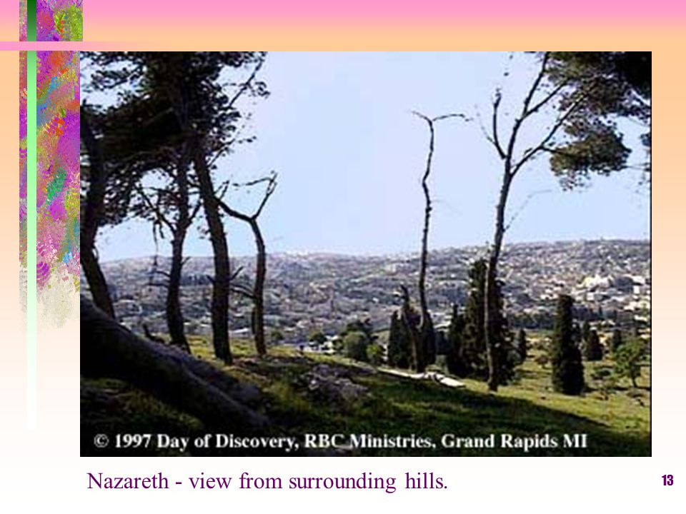 13 Nazareth - view from surrounding hills.