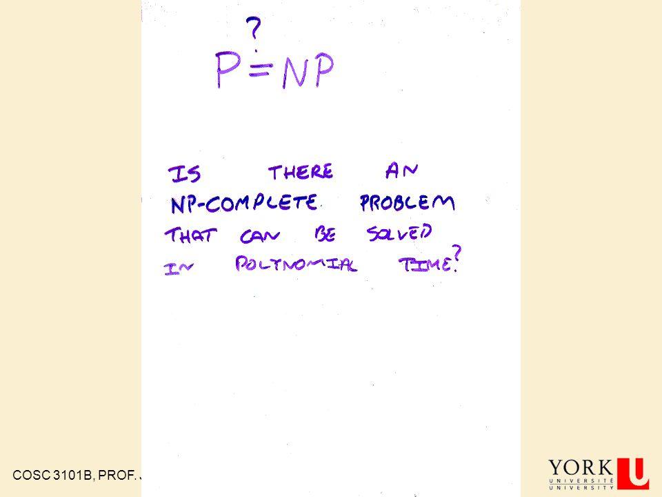COSC 3101B, PROF. J. ELDER 99