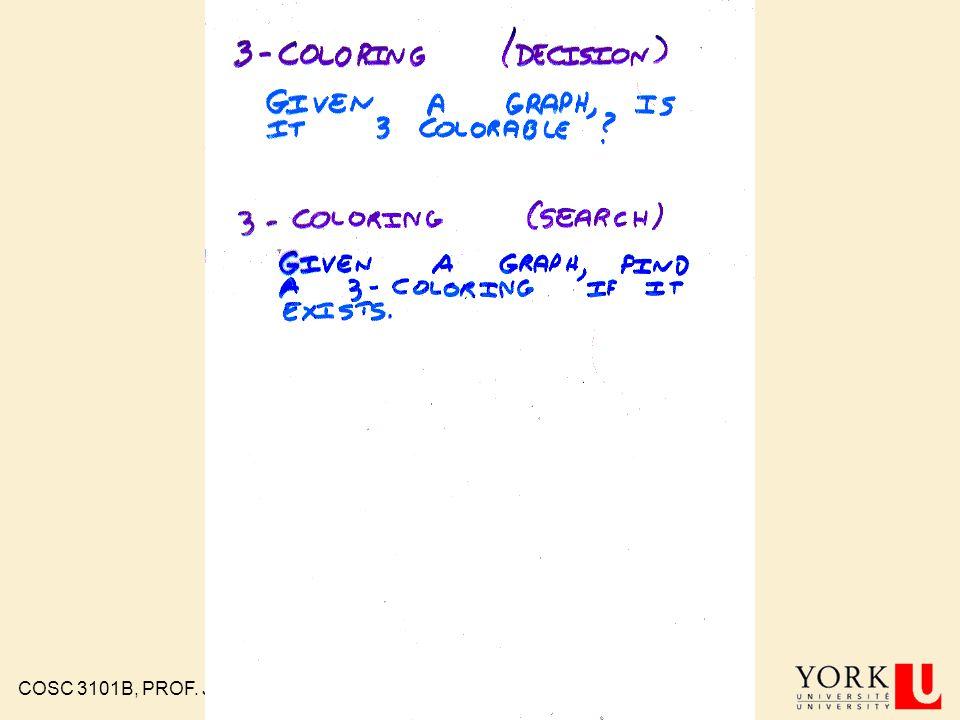 COSC 3101B, PROF. J. ELDER 84