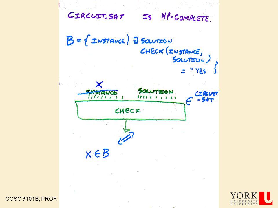 COSC 3101B, PROF. J. ELDER 95