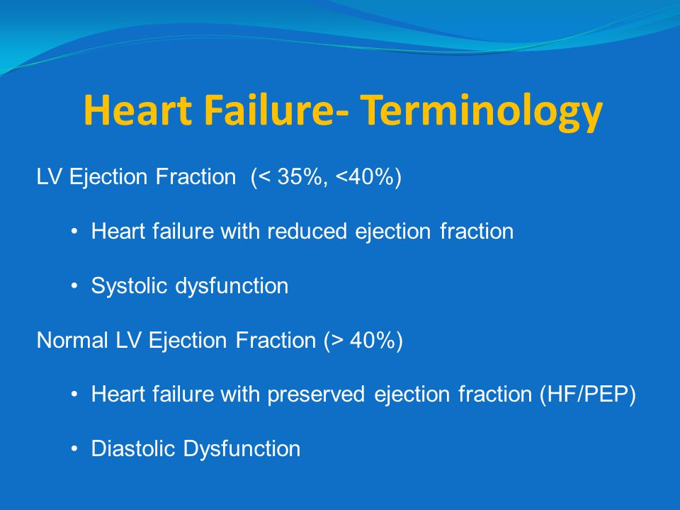 Management of ADHF Howlett Can J Cardiology, July 2008 AHF diagnosed, treatment based on symptoms and signs Mild overload Volume overload Volume overload + low cardiac output Mod.
