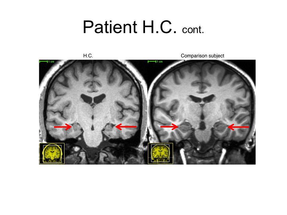 Patient H.C. cont.