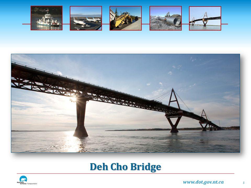 www.dot.gov.nt.ca Deh Cho Bridge 5