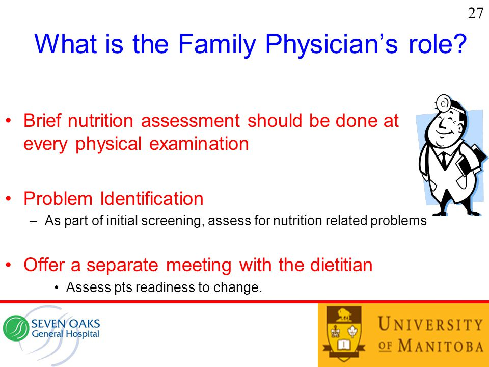 What is the Family Physician's role.