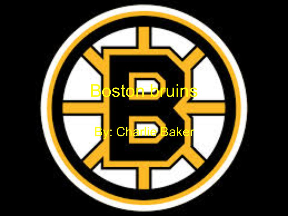 Boston bruins By: Charlie Baker