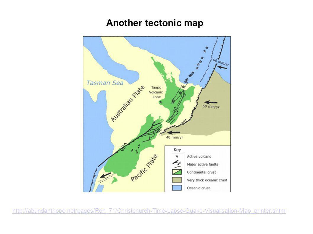Geology – New Zealand http://data.gns.cri.nz/geoatlas/image.jsp?image=nz_cont.jpg