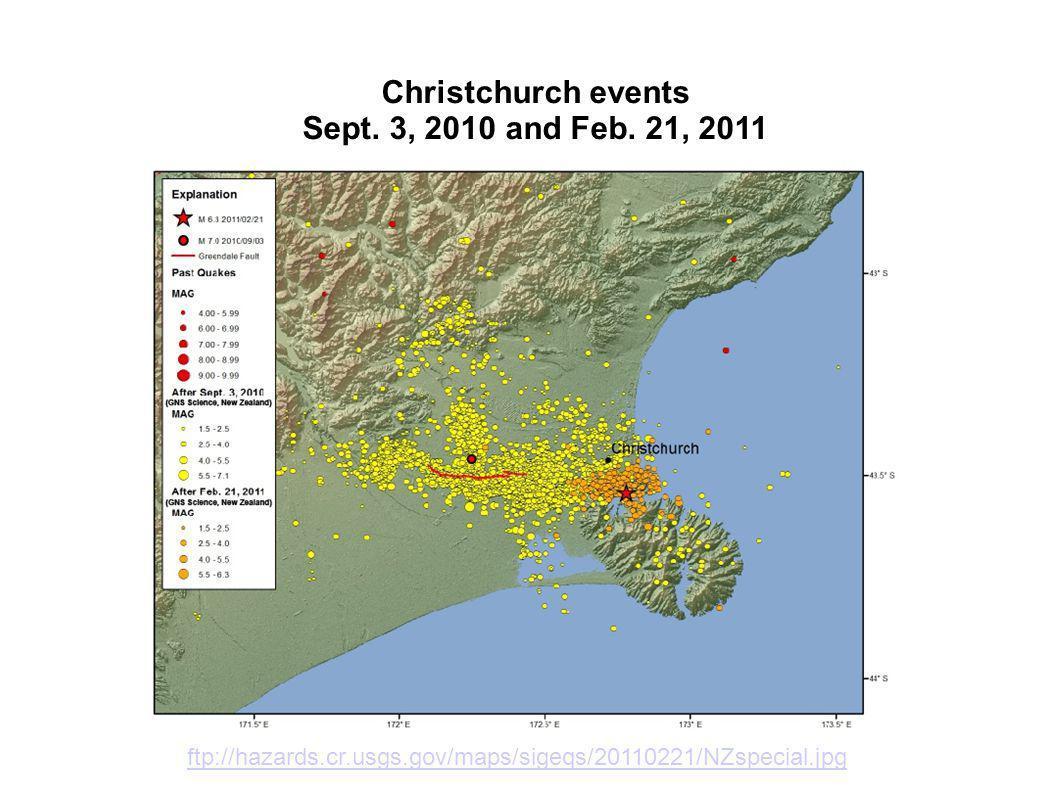 Geology Canterbury-Christchurch http://data.gns.cri.nz/geoatlas/image.jsp?image=nz_cont.jpg