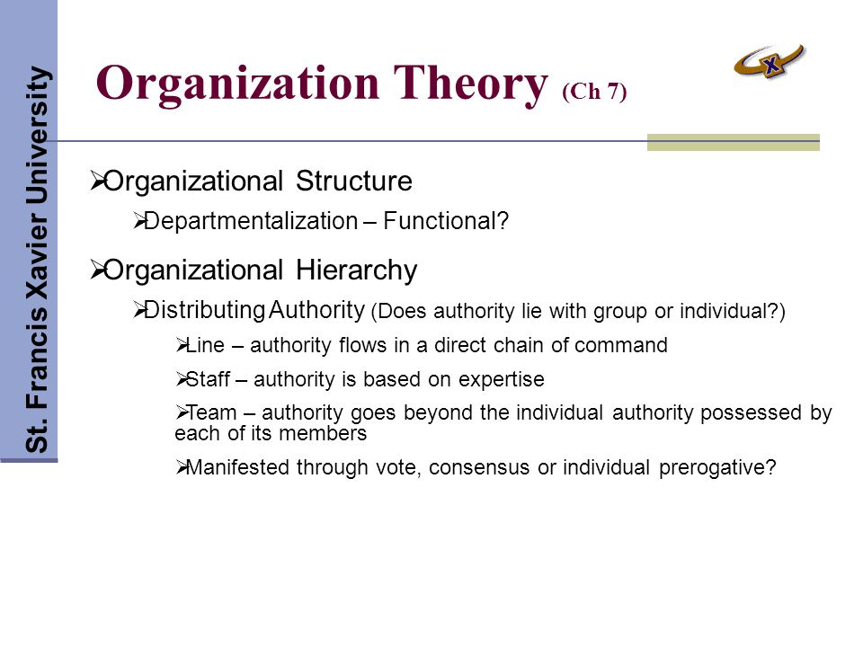 Leadership Theory (Ch 9) St.Francis Xavier University  What types of leader.