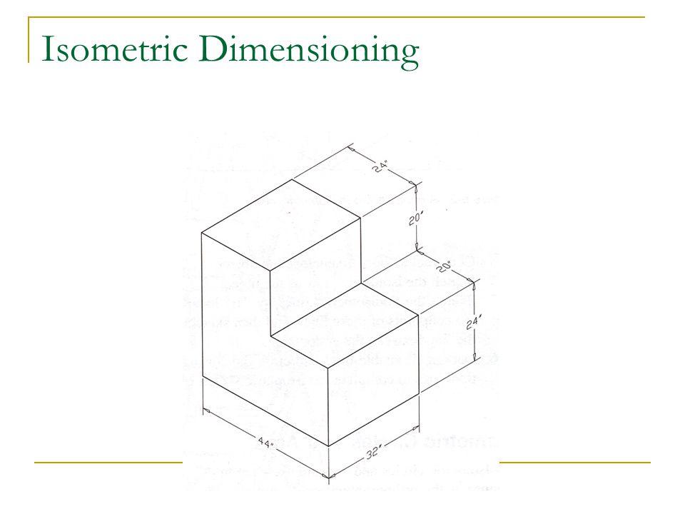 Isometric Dimensioning