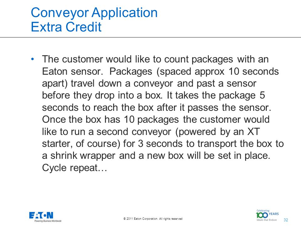 32 © 2011 Eaton Corporation. All rights reserved.