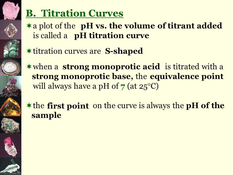 average volume = NaCl (aq) x mol/L V = 10.00 mL = 0.01000 L n = C = n V = = C = 0.685 mol/L V = mL = L n = = mol ( + + ) 3 = mL HCl (aq) +NaOH (aq) →