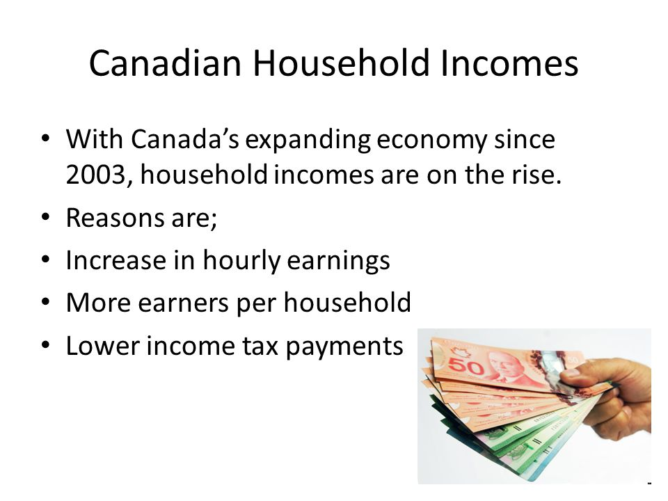 In spite of the economic gains, many Canadians live on the financial edge