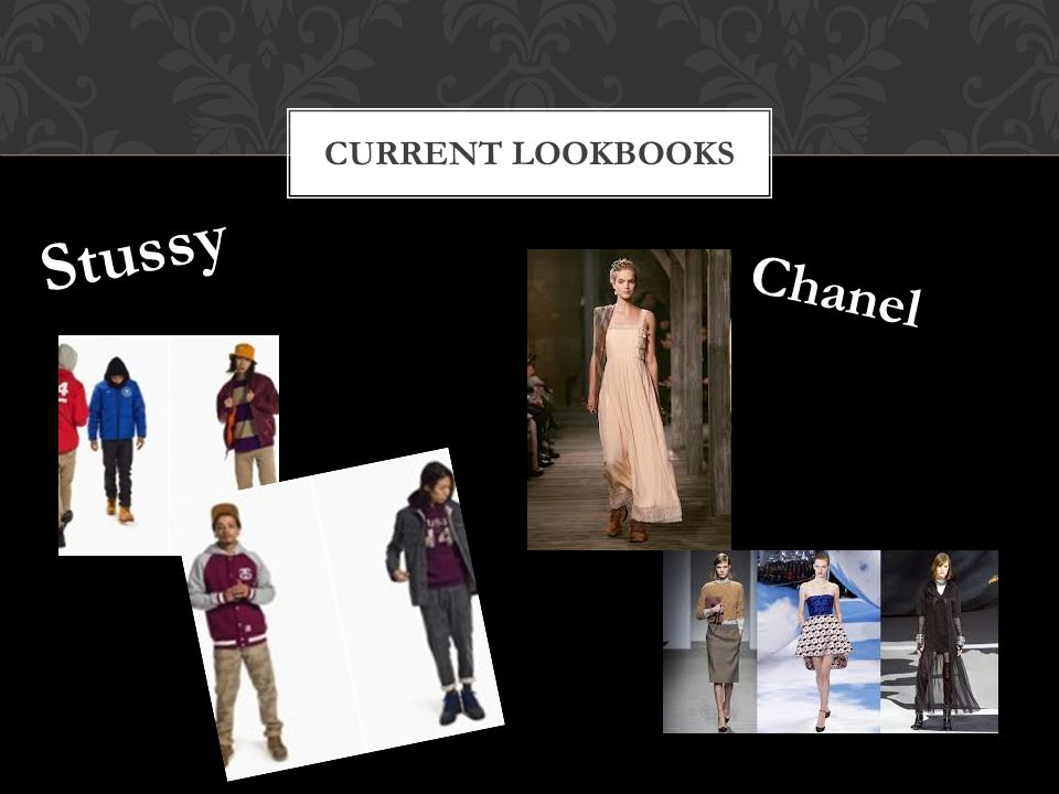 CURRENT LOOKBOOKS Stussy Chanel
