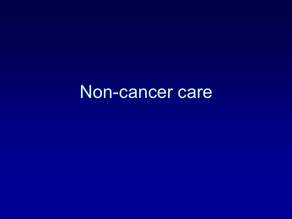 Non-cancer care