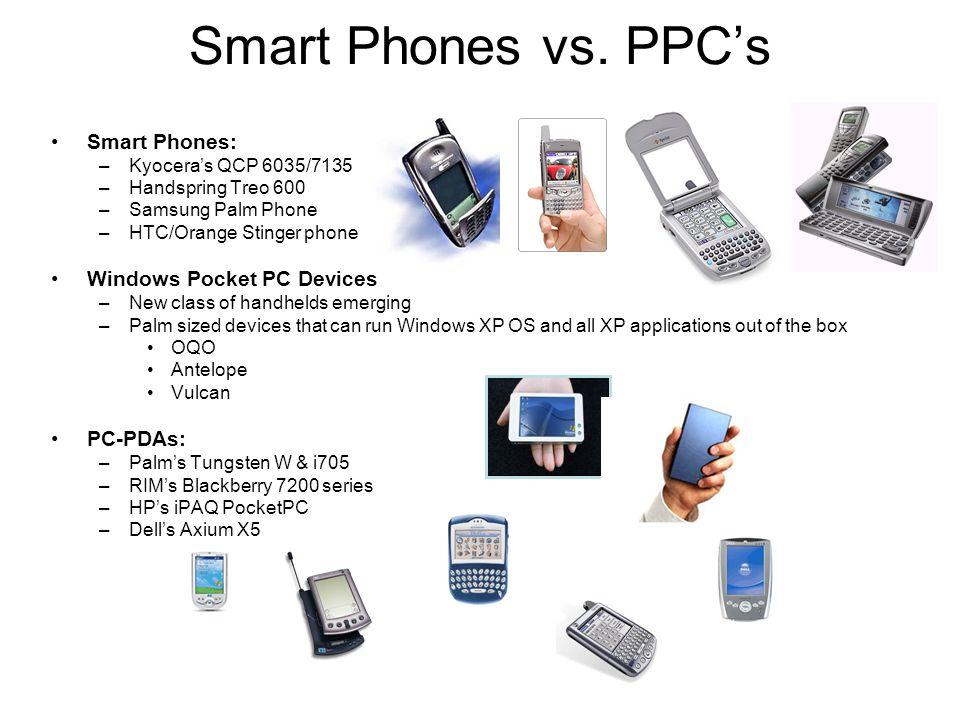 Smart Phones vs.