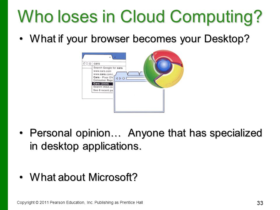 Who loses in Cloud Computing.