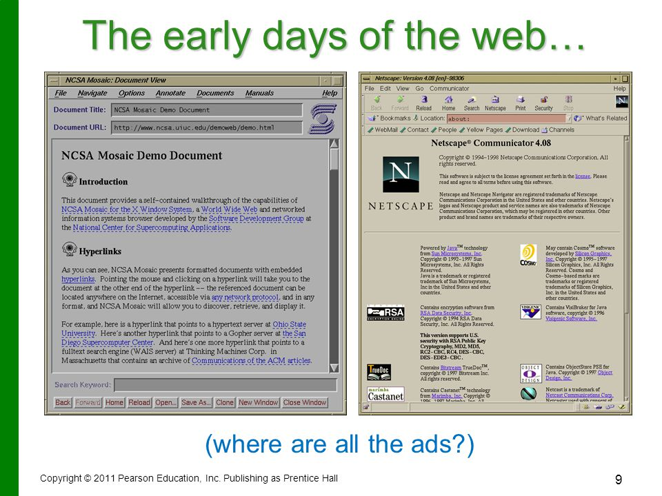 Wikis Wikis: Web sites that allow anyone to change their content – –Provide a source for collaborative writing – –Eliminate exchanging e-mails – –Track revisions Copyright © 2012 Pearson Education, Inc.