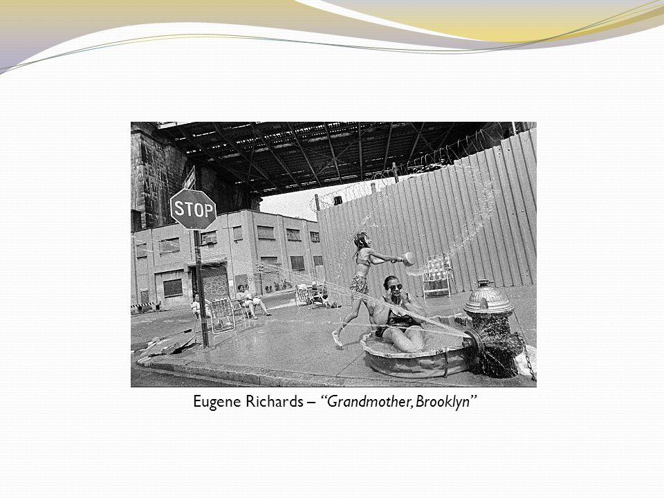 Eugene Richards – Grandmother, Brooklyn
