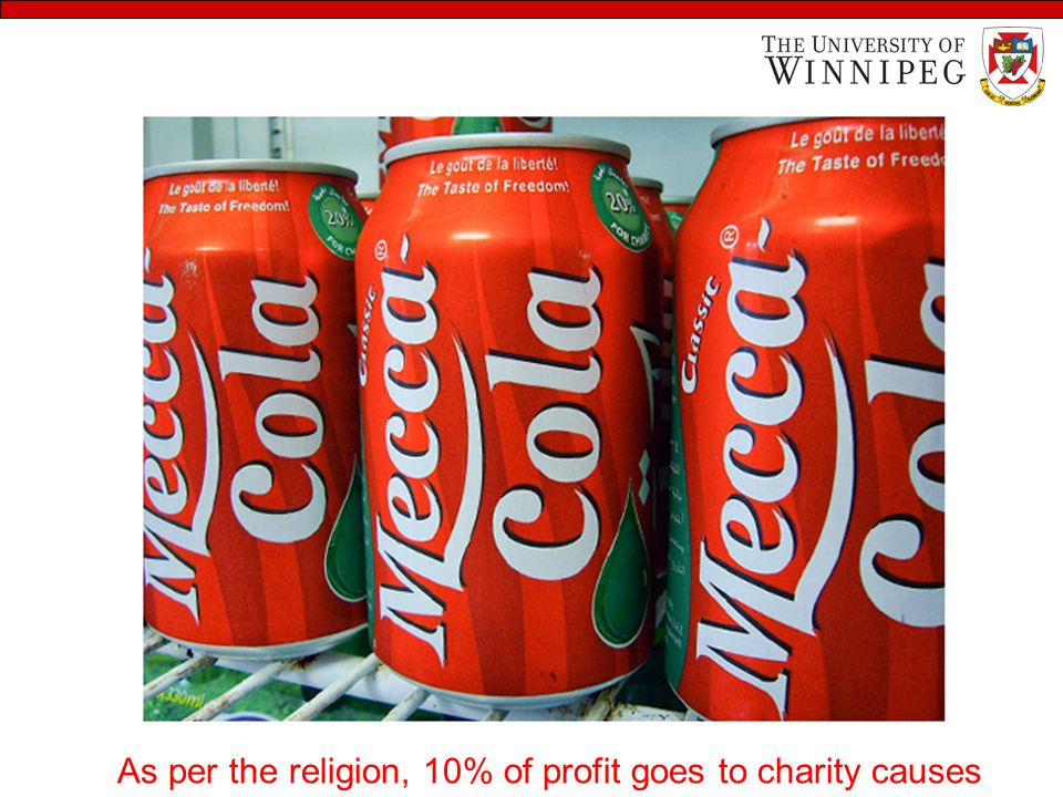 As per the religion, 10% of profit goes to charity causes