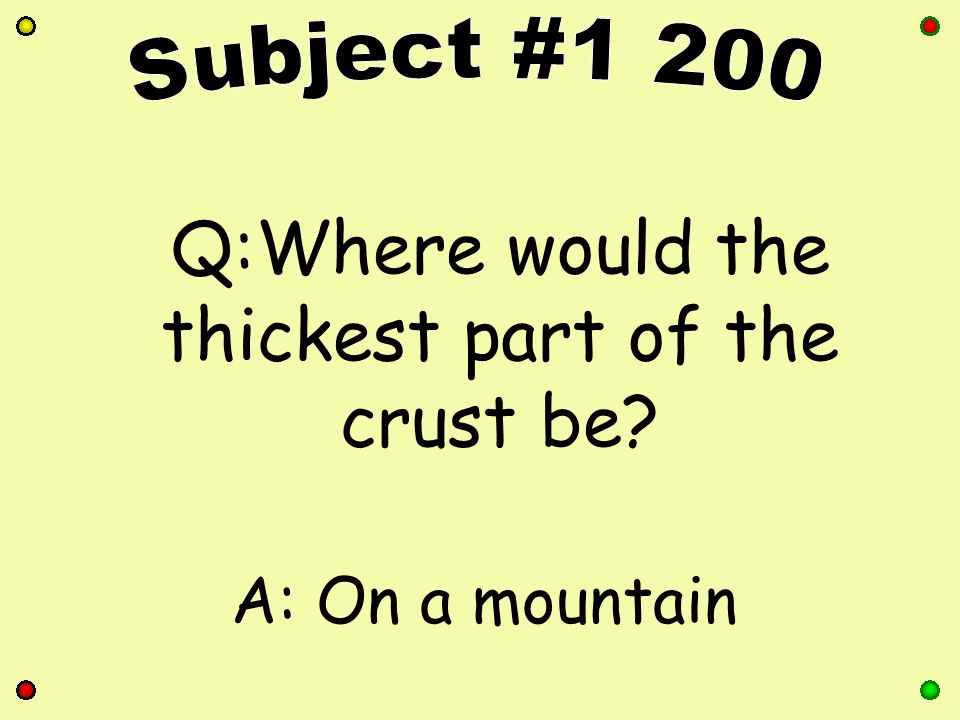 Q:These are created by running water (rivers), especially during a flood A:Fluvial Landform