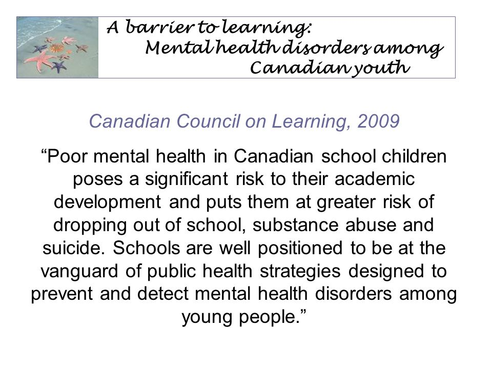 The Educator Mental Health Resource Is new Is created from other Canadian guides Has been developed by local mental health professionals and educators Is designed to help you to make a difference for your students Needs your input so that it truly meets the needs of Ontario educators Will be shared across the province after the pilot