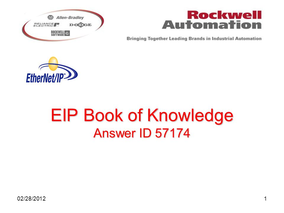 1 EIP Book of Knowledge Answer ID 57174 02/28/2012