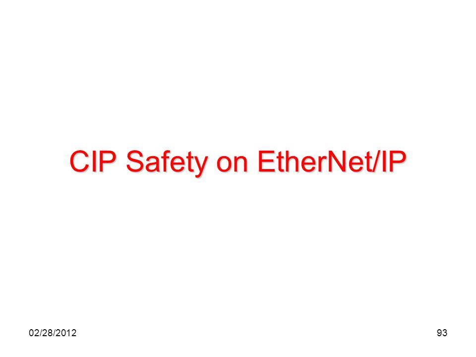 93 CIP Safety on EtherNet/IP 02/28/2012
