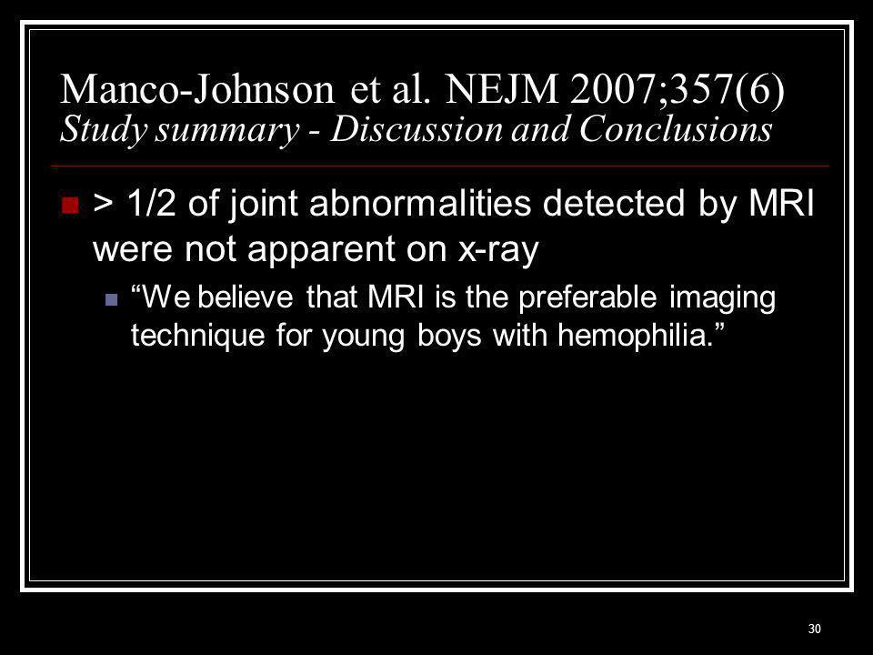 30 Manco-Johnson et al.