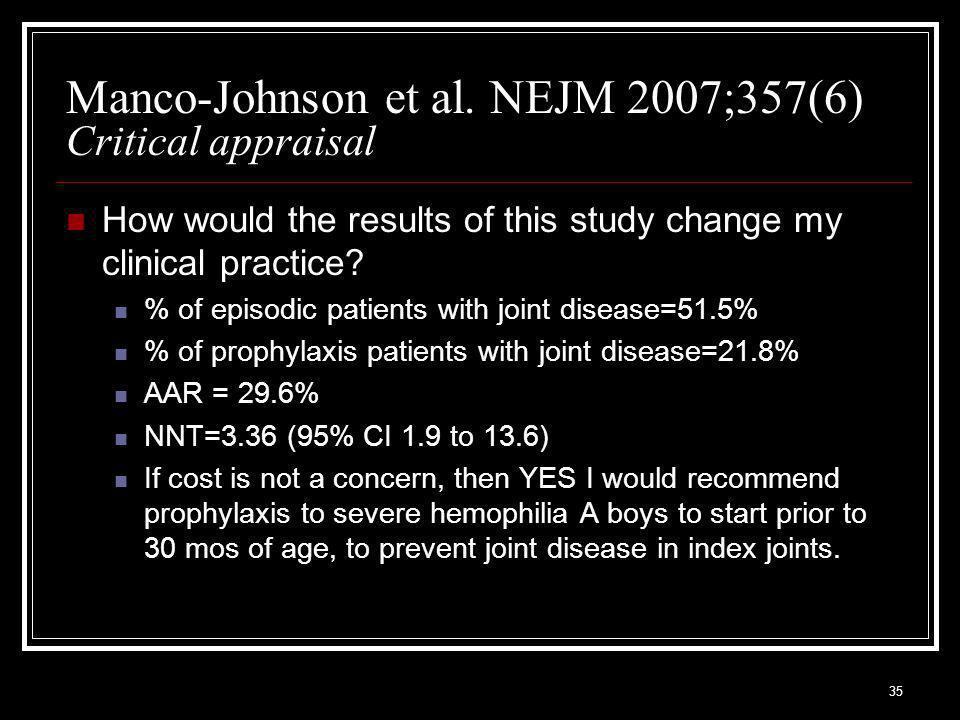 35 Manco-Johnson et al.