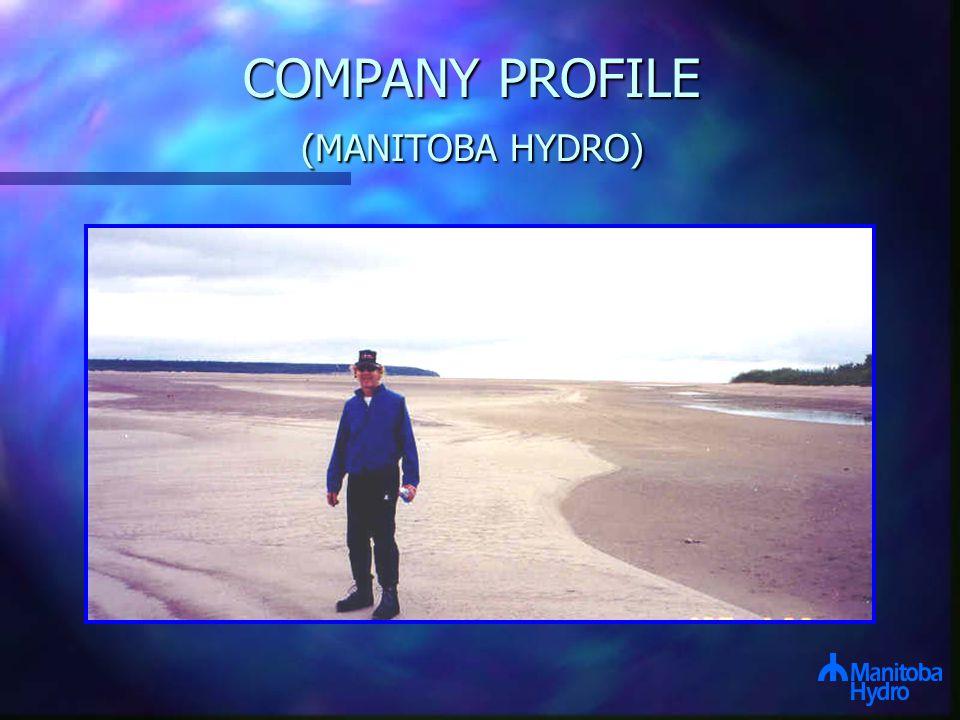COMPANY PROFILE (MANITOBA HYDRO)
