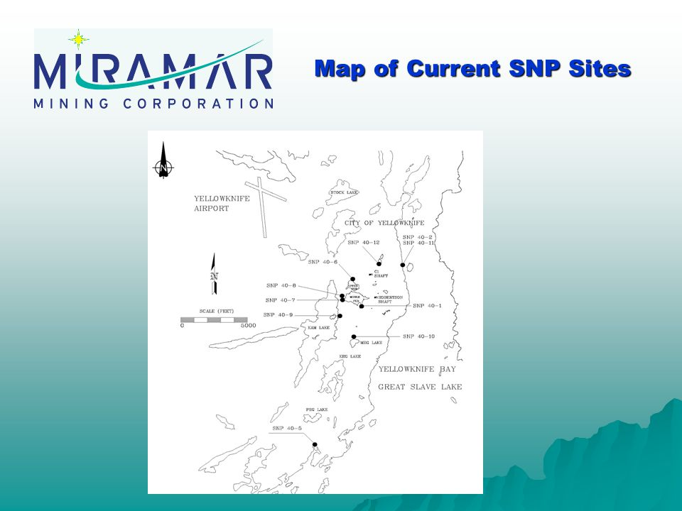 Map of Current SNP Sites