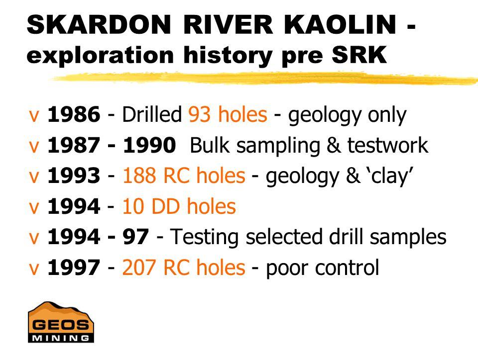 SKARDON RIVER KAOLIN - discovery….