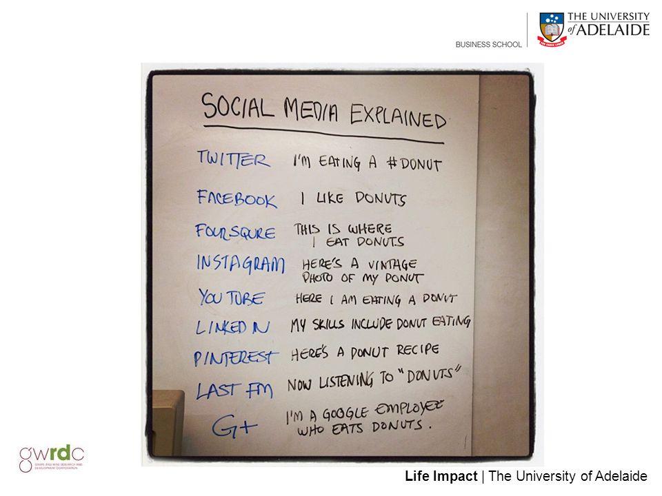 Life Impact | The University of Adelaide