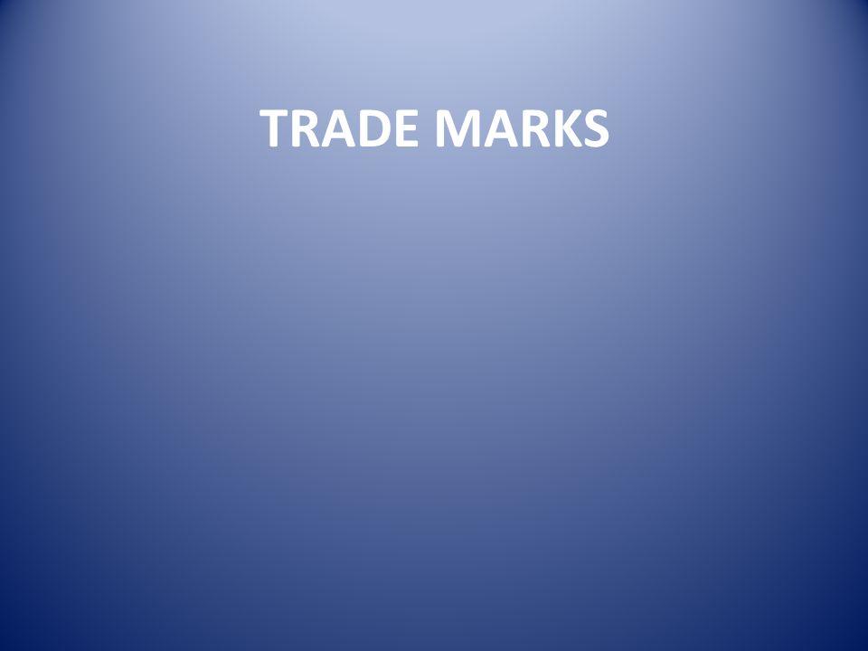 TRADE MARK REGULATIONS