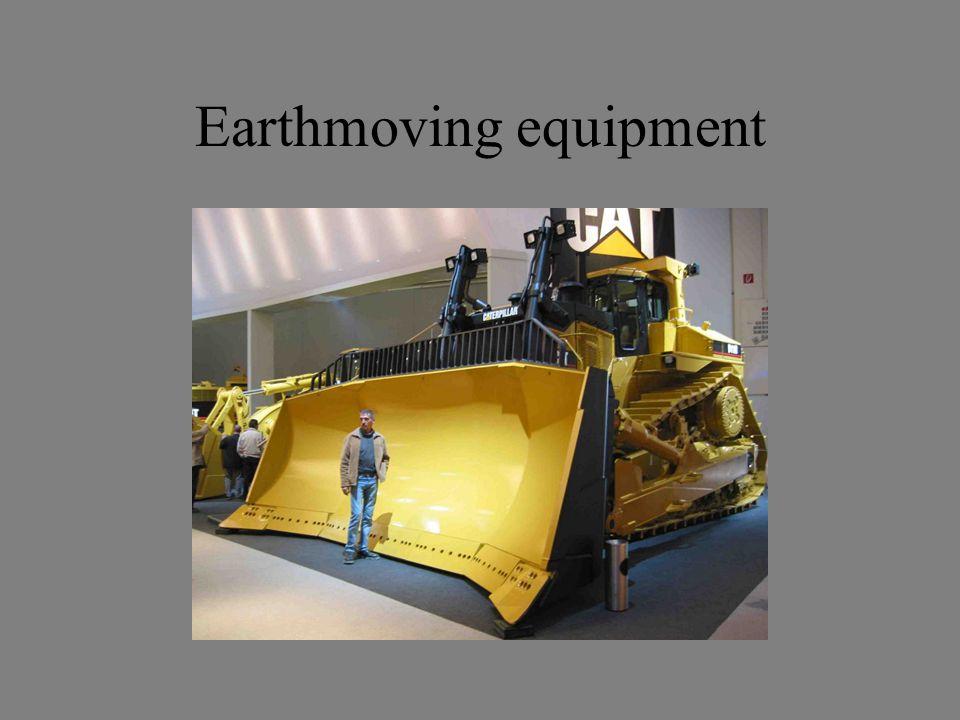 Earthmoving equipment