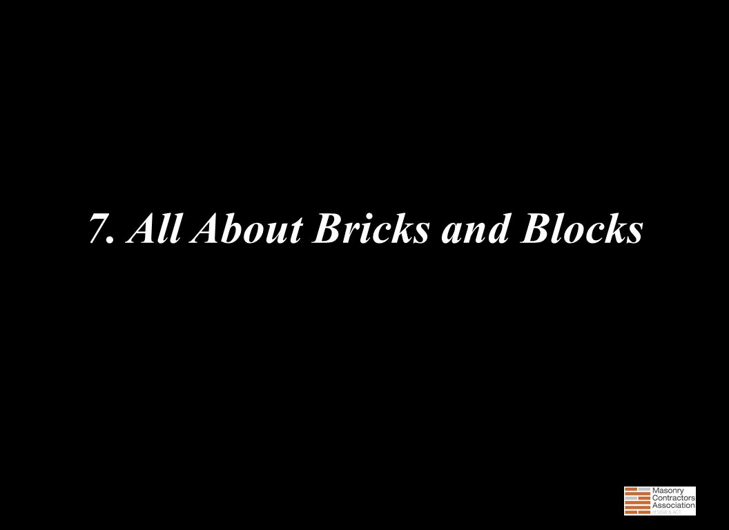 7. All About Bricks and Blocks 100