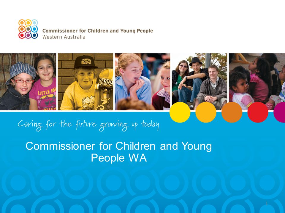Commissioner for Children and Young People WA 1